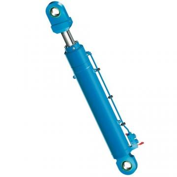 Vérin télescopique 8T 1050mm + kit de basculement hydraulique avec pompe 12 VDC