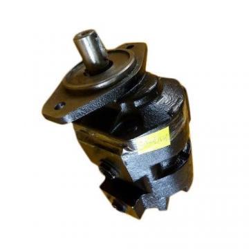 Genuine PARKER/JCB 3cx Twin Hydraulic Pump 332/g7134 33 + 23cc/rev. made in UE