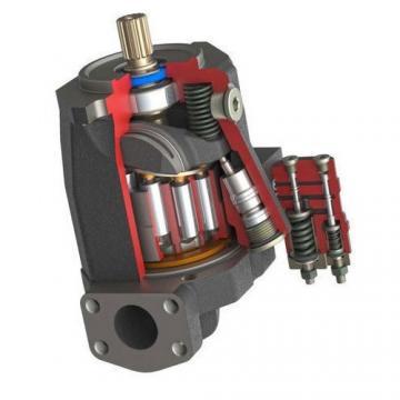 22 GPM Hydraulique à deux étages Hi-Low pompe à engrenages à 3600 tr/min